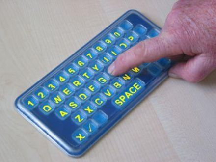 Frenchay Alphabet Board - Qwerty - Pocket size